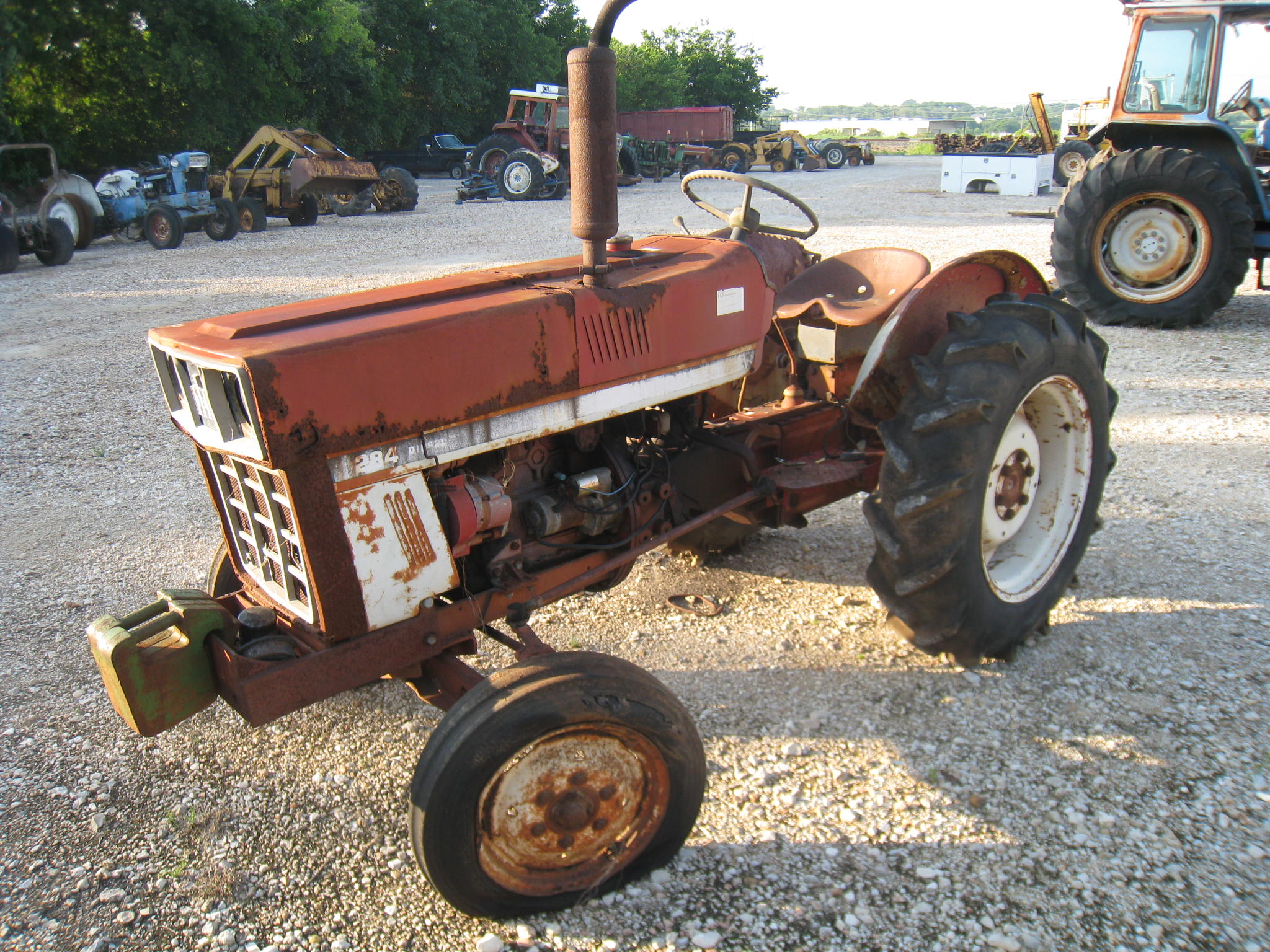 International 284 Tractor Parts : B m tractor parts dismantled details